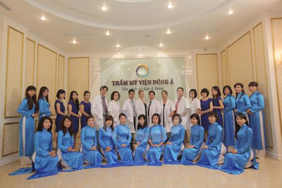 Thẩm mỹ viện Đông Á - địa chỉ cắt mí mắt ở Hà Nội uy tín nhất