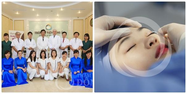 TMV Đông Á là địa chỉ cắt da thừa mí mắt uy tín, an toàn