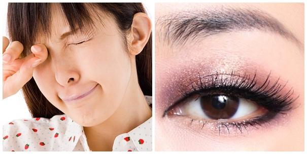 Hành động dụi mắt sẽ làm vùng da mắt lão hóa nhanh hơn