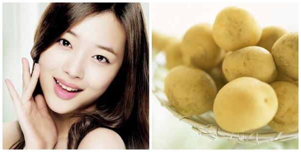 Cách trị thâm quầng mắt hiệu quả bằng khoai tây