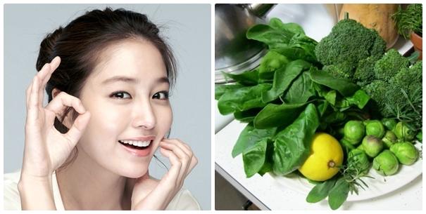 Tích cực bổ sung rau xanh mỗi này giúp đôi mắt khỏe đẹp