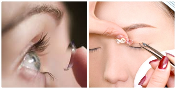 Bạn có thể sử dụng các phụ kiện làm đẹp cho đôi mắt một cách phong phú