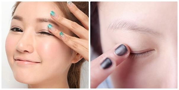 Miếng dán kích mí mắt có thể khiến mắt bị lão hóa sớm