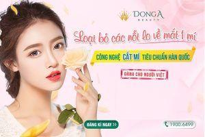 Cắt mí mắt dưới CN Hàn Quốc: Mắt đẹp, mí rõ, quyến rũ từng ánh nhìn