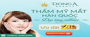 Nhân dịp khai trương cơ sở 4 tại Hải Phòng: Đông Á Beauty ưu đãi 20% chi phí: Bấm mí, cắt mí, lấy mỡ mí mắt từ ngày 05/07 – 30/07/2016