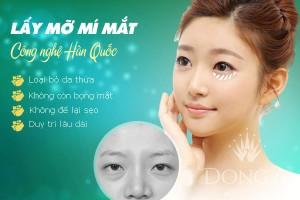 Lấy mỡ mí mắt CN Hàn Quốc – Tự tin cho đôi mắt không tuổi