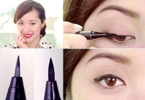 Cách kẻ mắt nước đơn giản cho cô nàng mắt 1 mí – Có clip hướng dẫn