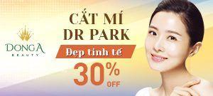 MẮT ĐẸP TINH TẾ VỚI CÔNG NGHỆ CẮT MÍ DR PARK: OFF 30%
