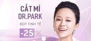 MẮT ĐẸP TINH TẾ VỚI CÔNG NGHỆ CẮT MÍ DR PARK: OFF 25% TRONG THÁNG 3